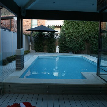 Swimming pool around house – Completed